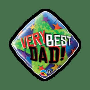 Very Best Dad Stars Balloon