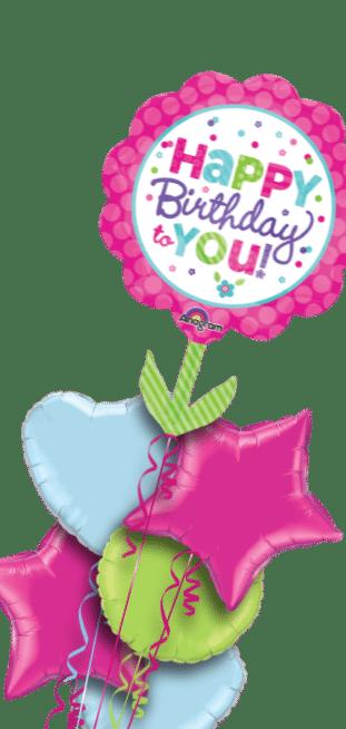 Birthday Giant Flower Balloon