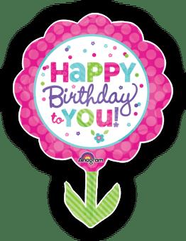 Birthday Giant Flower