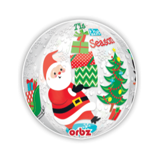 Tis The Season Orbz Balloon