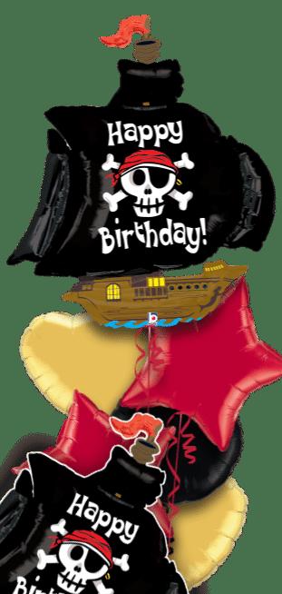 Birthday Pirate Ship Balloon