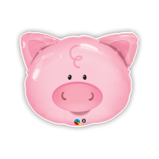 Playful Pig Balloon