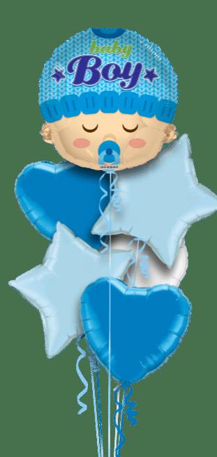 Baby Boy Head Shape Balloon