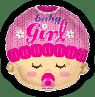 Baby Girl Head Shape