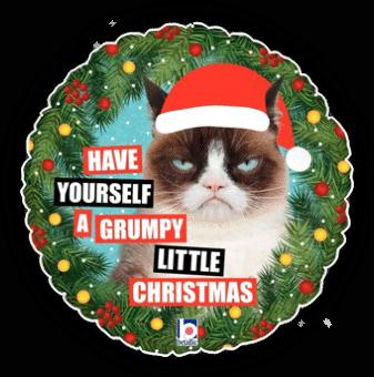 Grumpy Cat Grumpy Christmas
