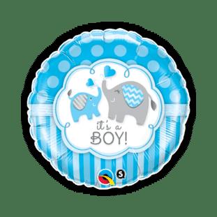Its a Boy Elephants Balloon