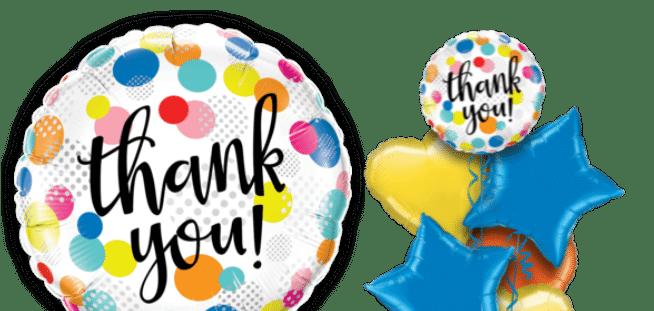 Thank You Dots Upon Dots Balloon