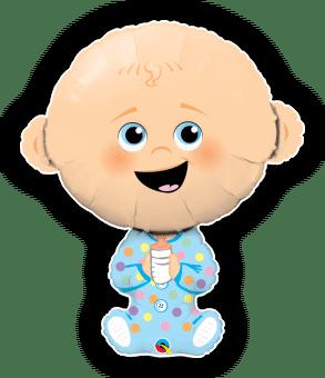 Cute Baby Boy Lighter Skin Tone