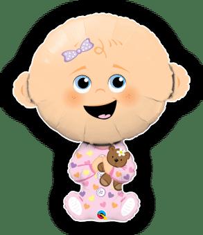 Cute Baby Girl Lighter Skin Tone