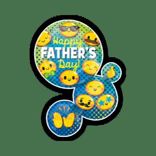 Fathers Day Emoji Fun Balloon