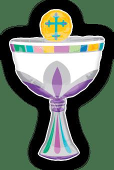 1st Communion Chalice Balloon
