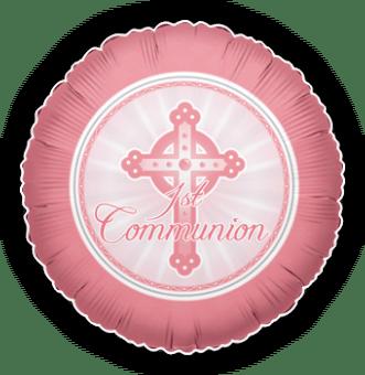 1st Communion Pink