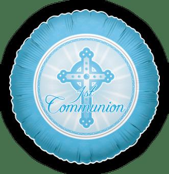 1st Communion Blue