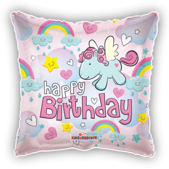 Happy Birthday Unicorns and Rainbows
