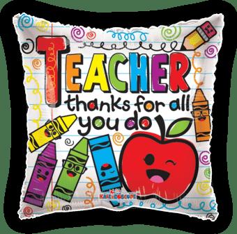 Teacher Thanks For All You Do