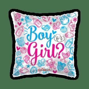Boy or Girl Baby Shower Balloon