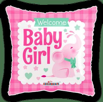 Elephant Welcome Baby Girl