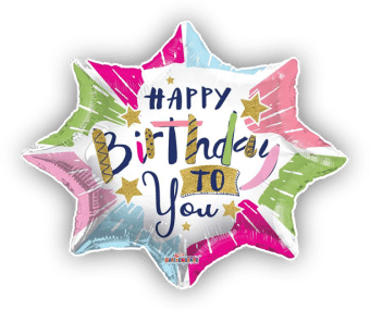 Happy Birthday Explosion