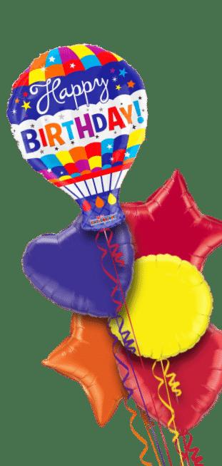 Happy Birthday Hot Air Balloon Balloon