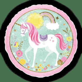 Magical Unicorn Rainbows and Flowers