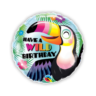 Have a Wild Birthday Balloon