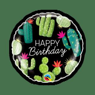 Birthday Cactuses Balloon