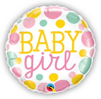 Baby Girl Big Dots