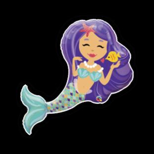 Giant Mermaid Balloon