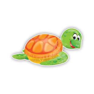Silly Sea Turtle Balloon
