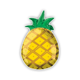 Totally Tropical Pineapple Balloon