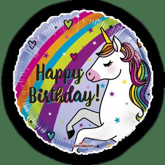 Rainbow Unicorn Birthday