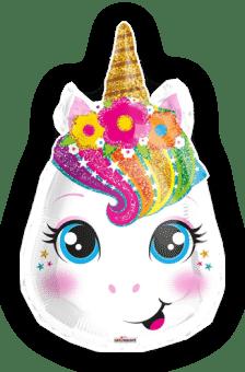 Magical Rainbow Unicorn Head
