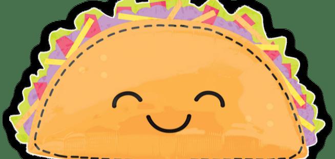 Taco Fun Balloon