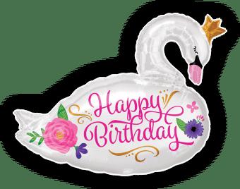 Happy Birthday Beautiful Swan