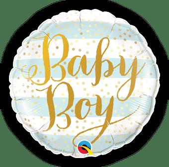 Baby Boy Blue Stripes