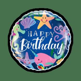 Birthday Fun Under The Sea Balloon