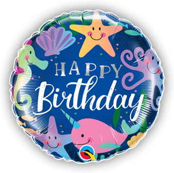 Birthday Fun Under The Sea
