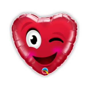 Smiley Winky Balloon