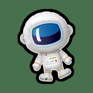 Space Man Balloon