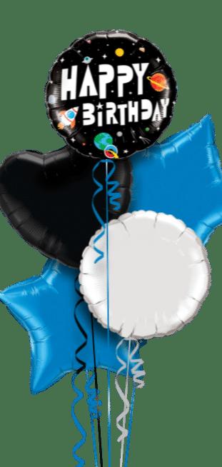 Birthday Spaceman Balloon