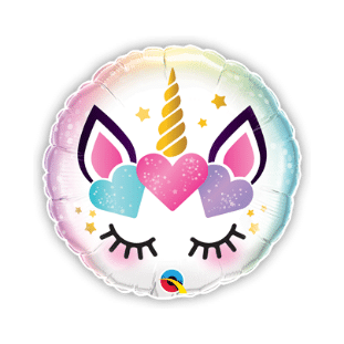 Unicorn Eye Lashes Balloon