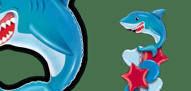 Smilin Shark Balloon