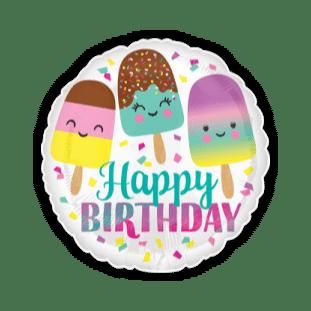 Birthday Lollipops Balloon