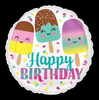 Birthday Lollipops