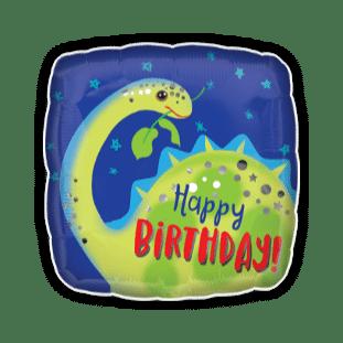 Birthday Fun Dinosaur Balloon