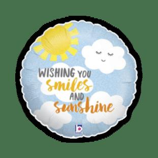 Wishing You Smiles and Sunshine Balloon