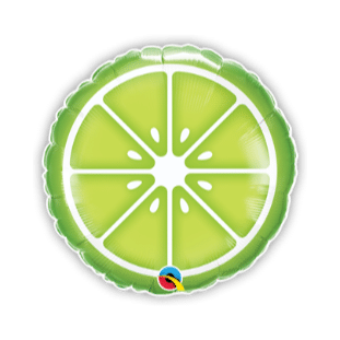 Sliced Lime Balloon