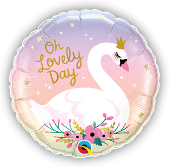 Oh Lovely Day Swan