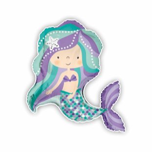 Sparkling Mermaid Balloon