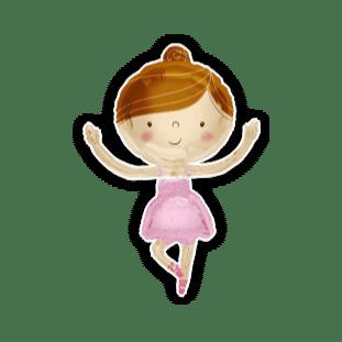 Beautiful Ballerina Balloon